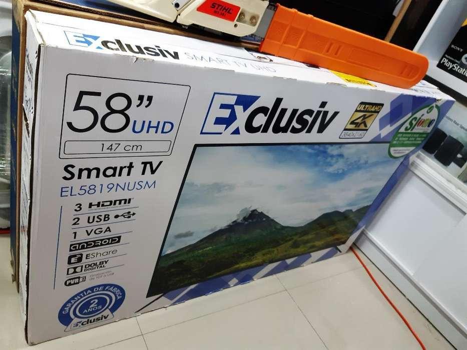 Tv 58 Pulgadas Smart 4k Nuevo