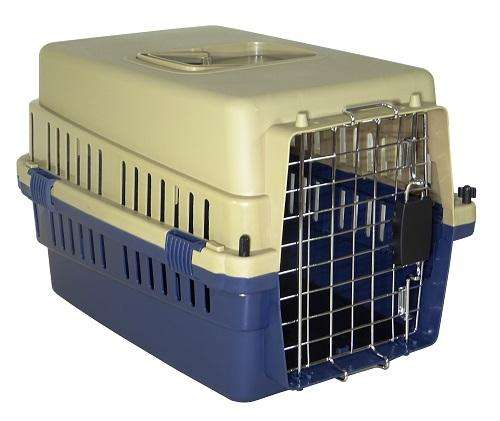 Kennel Transportador con piso impermeable L50A, mascotas pequeñitas. Cumple IATA