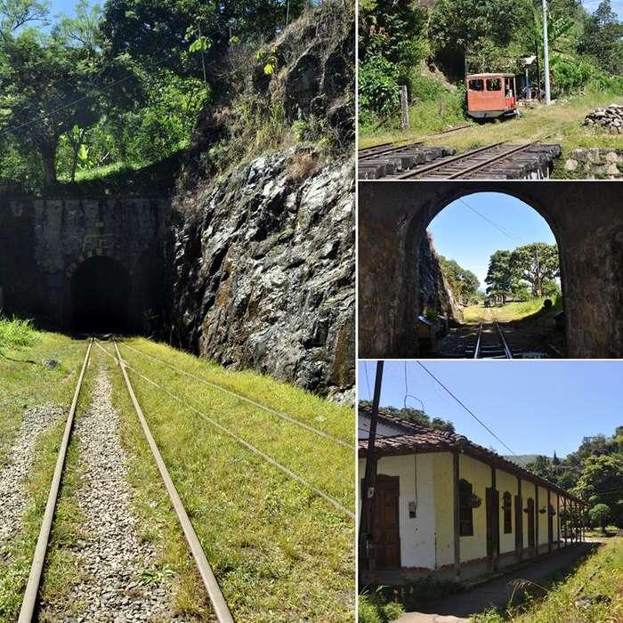 Tunel de la Quiebra Evocando el ferrocarril