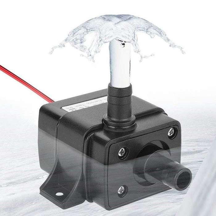 Bomba Agua Sumergible Oxigenacion Acuarios Peceras