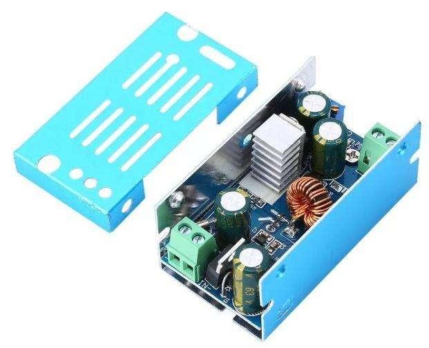 Modulo Elevador Ajustable Dc 10a 200w 12v 24v 46v Potencia