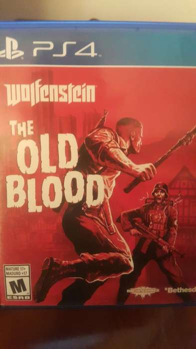Wolfestein The Old Blood Ps4