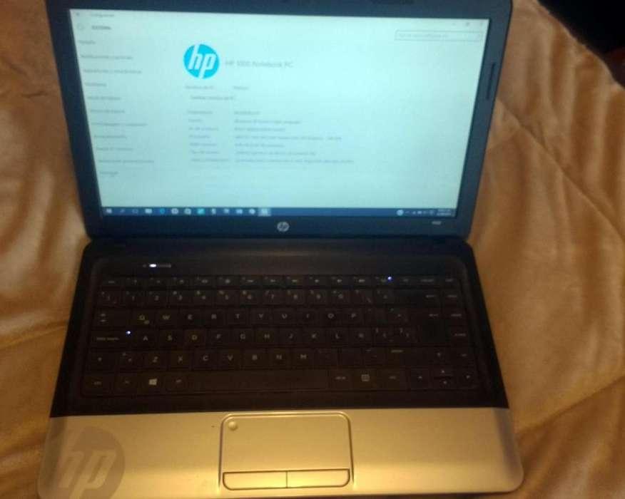 BARATO! PC HP 1000 Notebook Usado perfecto estado!