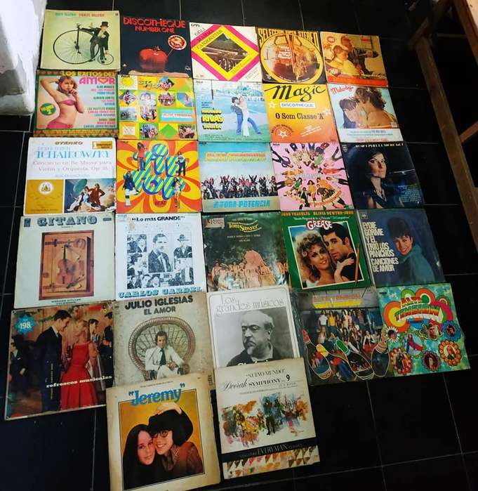 Lote de 27 discos vinilos