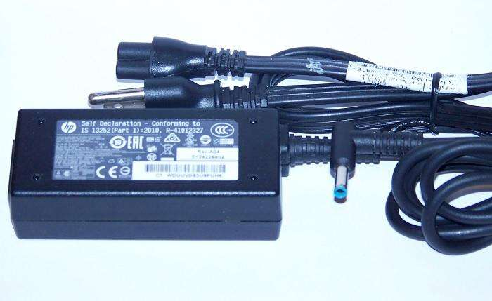 cargador laptop hp punta azul 19.5v - 2.31a original