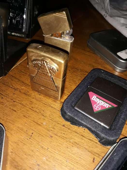 Vendo Lote Encendedores Zippo Originales