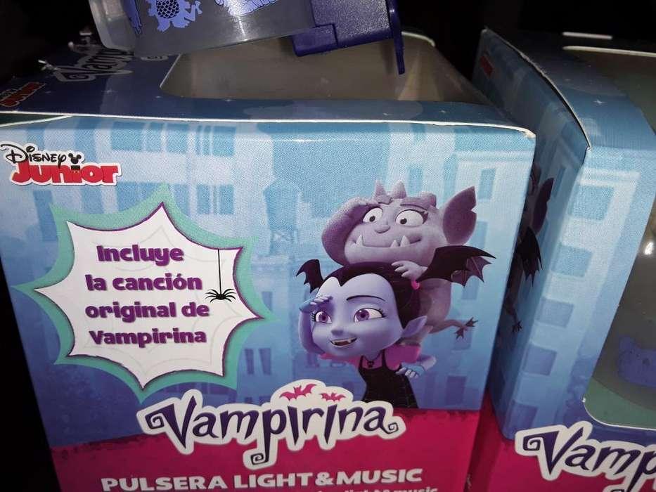 Vendo Pulsera de Vampirina Co Musica Ylu