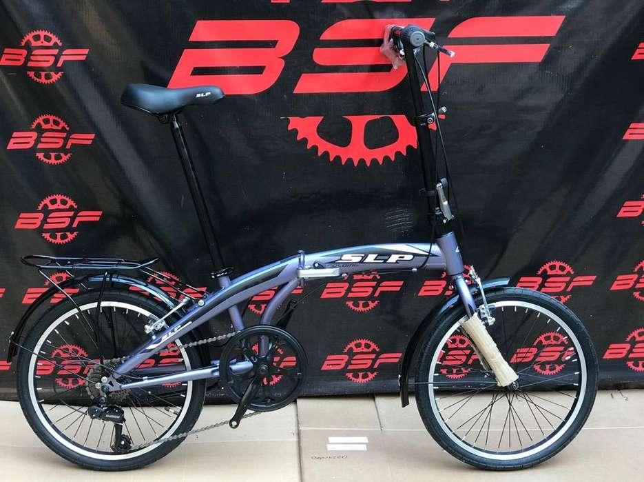 Bicicletas Slp Plegables Nuevas Acero