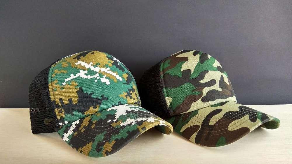 Gorras Estilo Militar
