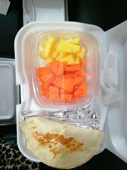 Refrigerios Nutritivo Creps con Fruta