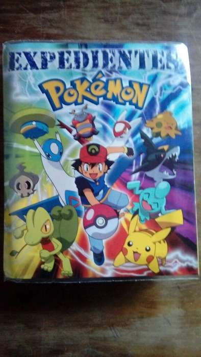 Expedientes Pokemon Casi Completo Repe