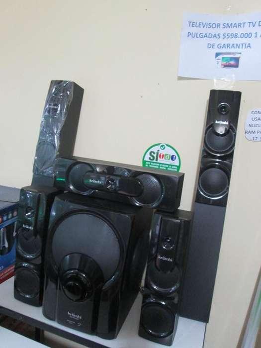 PROMOCION teatro en casa 5.1 CON BLUETOOTH USB RADIO ENTRADA DVD Y ENTRADA PARA DOS MICROFONOS