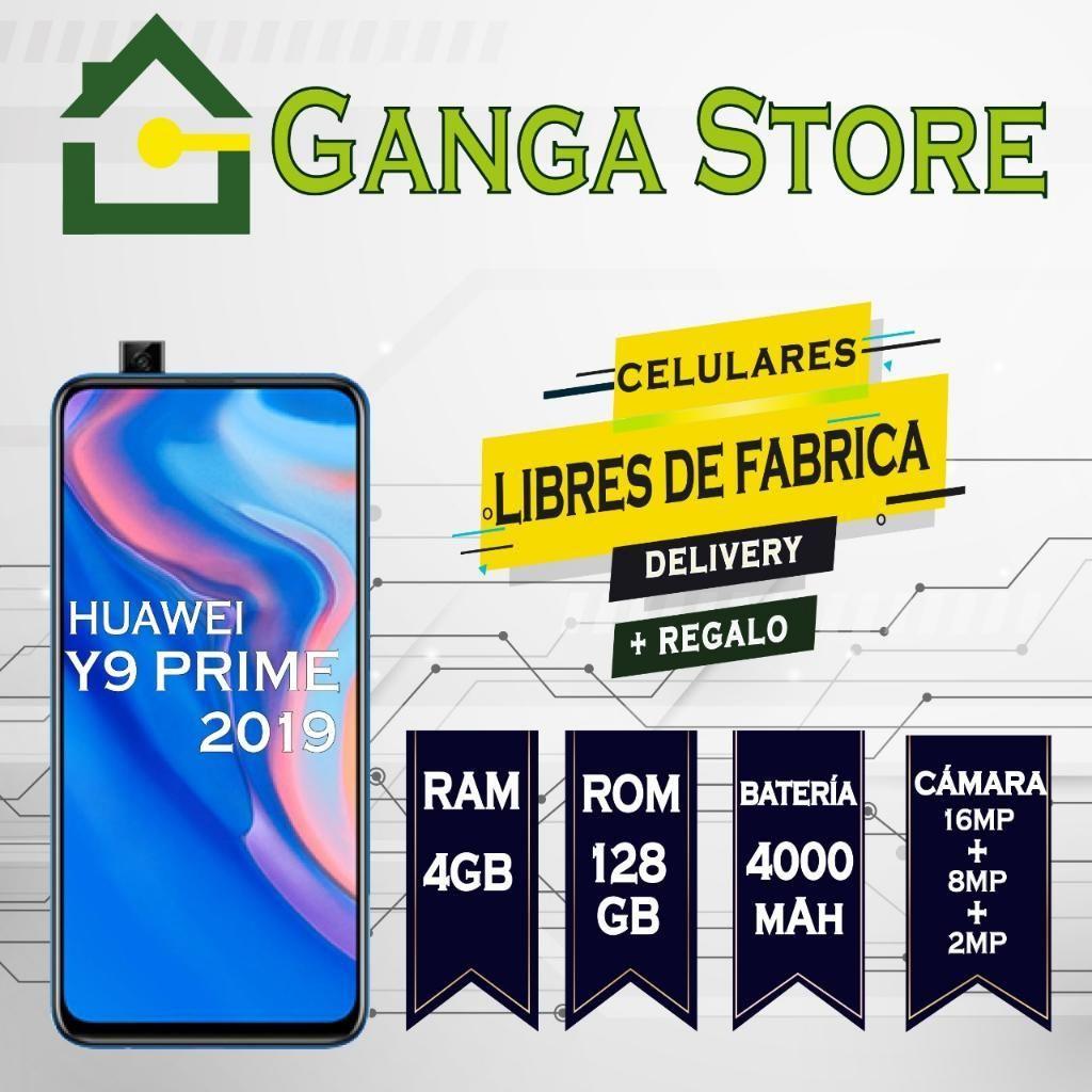 Huawei Y9 Prime 2019 Nuevo, Libre Tienda