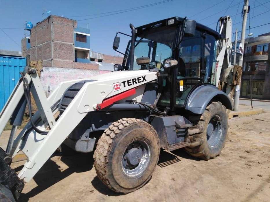 VENDO RETROEXCAVADORA TEREX AÑO FAB. 2011 <strong>4x4</strong> BRAZO EXTENSIBLE OPERATIVA CEL.987784161