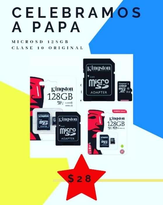Memoria Microsd 128gb Clase 10 Kingston
