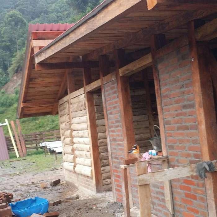 Hermosas Cabañas en Madera Y Material