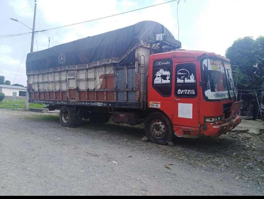 Camión de Carga Pesada