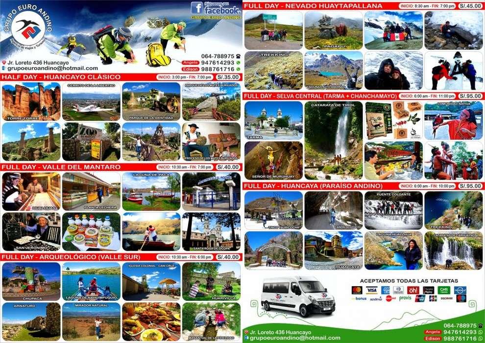 Tours y Paquetes Turisticos en Huancayo