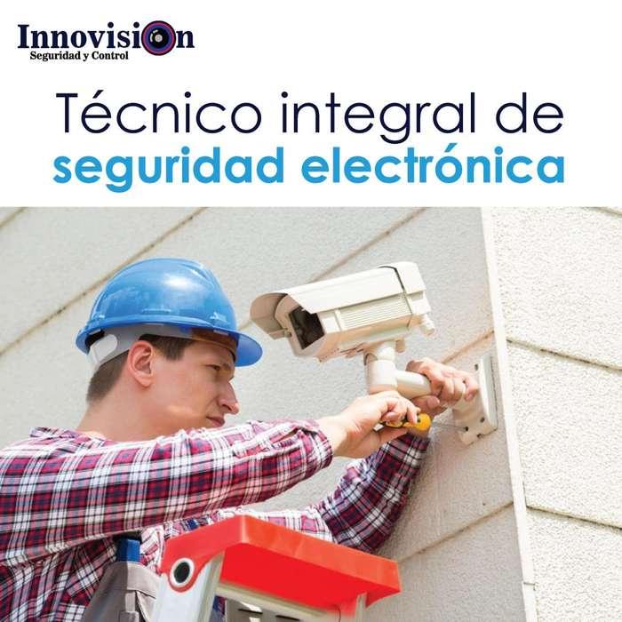 Técnico integral de seguridad electrónica