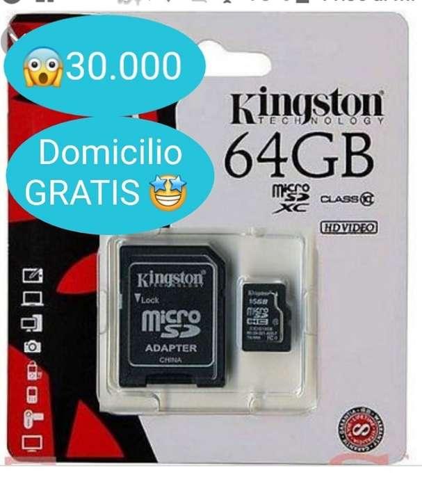 Memoria Micro Sd 64