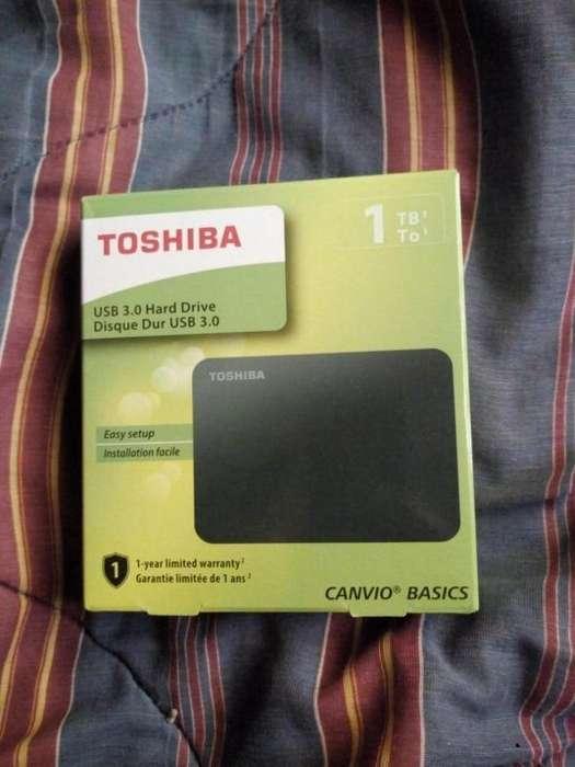 Disco Externo Toshiba 1TB nuevo