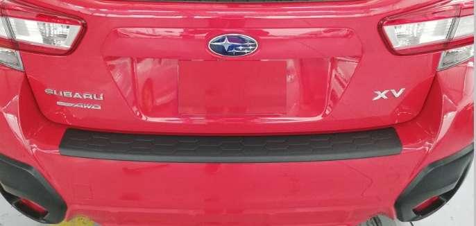 Pisadera Protector Parachoque Posterior XV Subaru <strong>accesorio</strong>s Originales