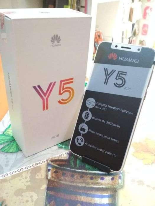 Huawei Y5 sin Estrenar con Fact de Tigo