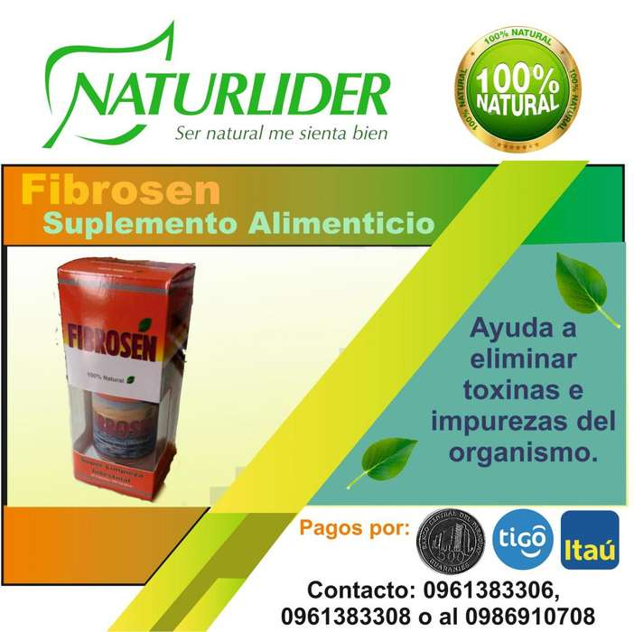 Vendo Fibrosen Limpieza super intestinal