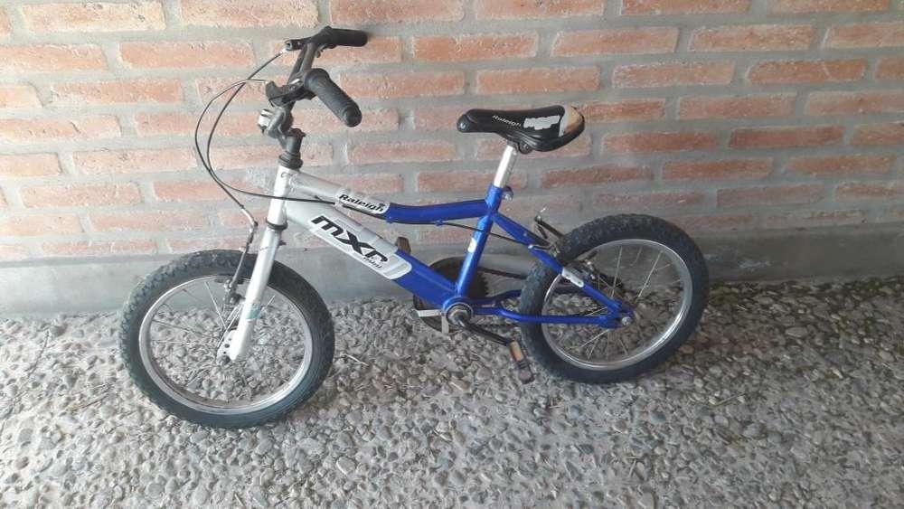 Bici niño rodado 16
