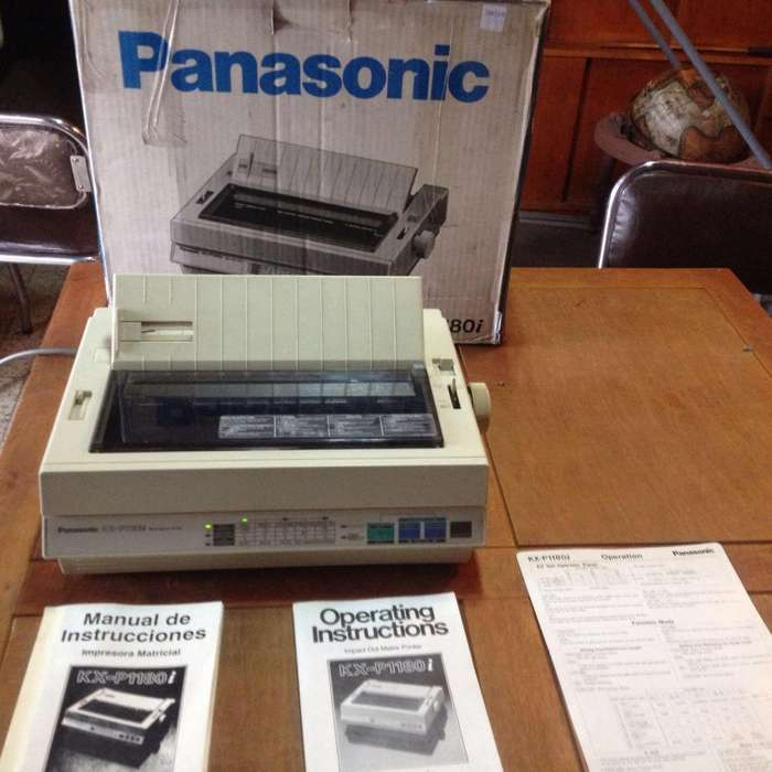 <strong>impresora</strong> Panasonic Matriz de Punto