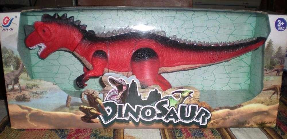 Dinosaurio Tiranosaurius Rex con Luz ,sonido y Movimiento.nuevo