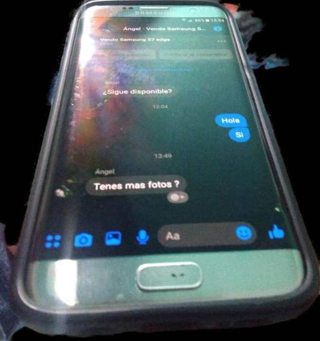 Vendo Samsung S7 Edge en Perfecto Estado