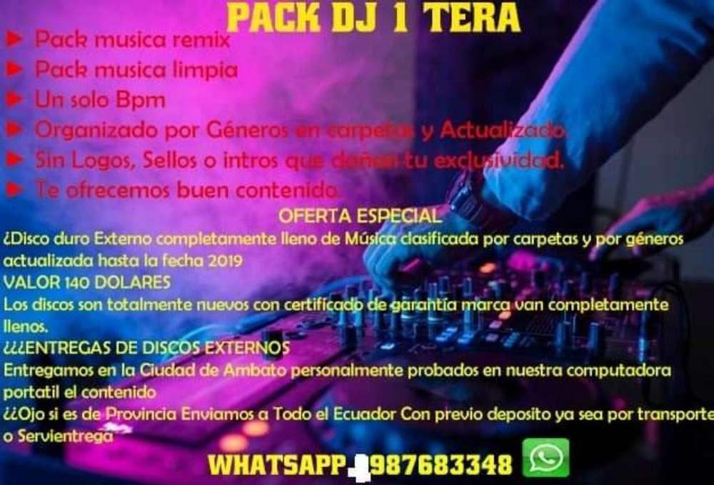 Pack Dj Disco Duro
