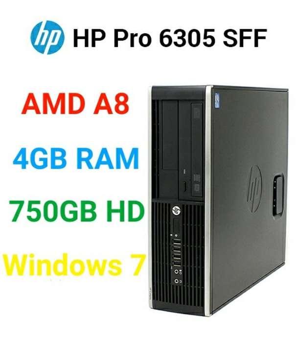 Pc Hp Pro A8 4gb 1tb