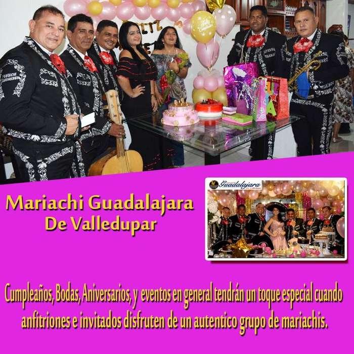 Contacto 301 377 3165 Mariachi Guadalajara de Valledupar