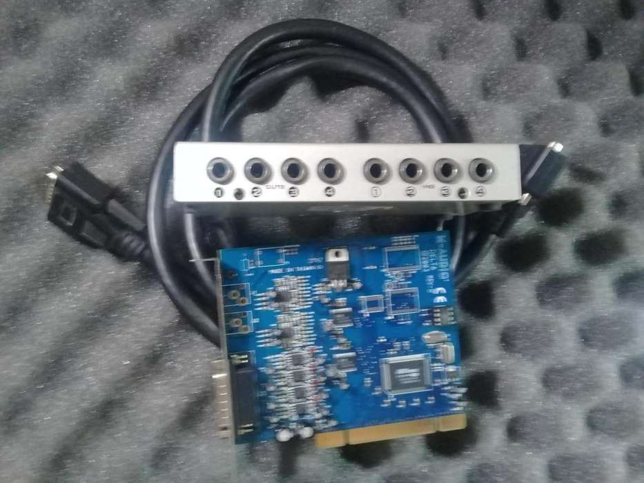 PLACA AUDIO DELTA 4/4 PERMUTO