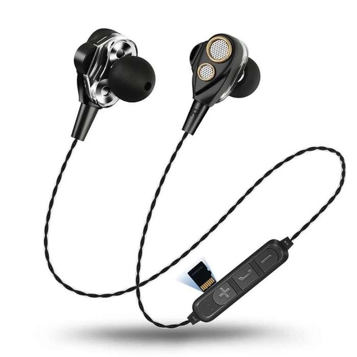 Audífonos Bluetooth con Puerto Sd