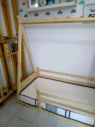 Cama Montessori Tipo Teepee