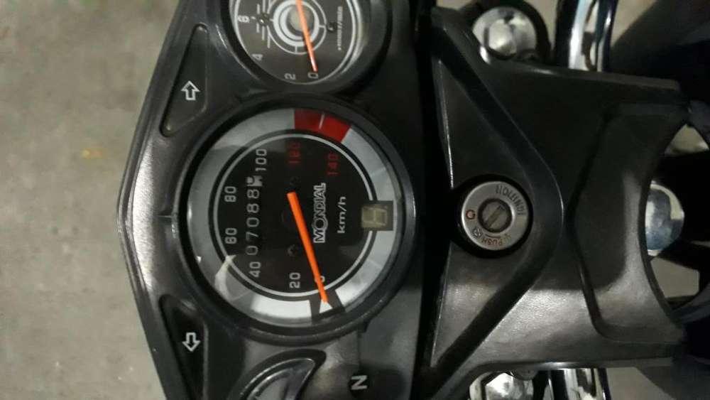 Mondial RD150H 2017 <strong>unico</strong> dueo 7000km Lista para transferir