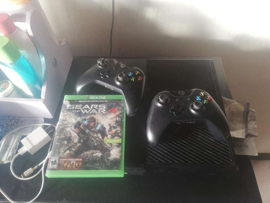 Xbox One 2 Controles 1 Tera 5 Juegos