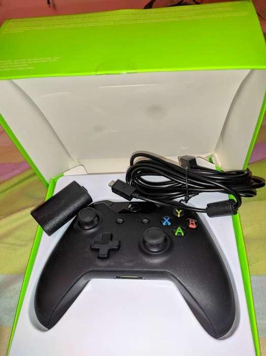 Control Xbox One Kit Carga Y Juega