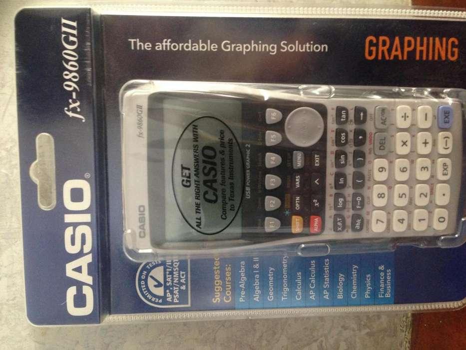CASIO FX 9860GII <strong>calculadora</strong> GRAFICA BACHILLERATO INTERNA
