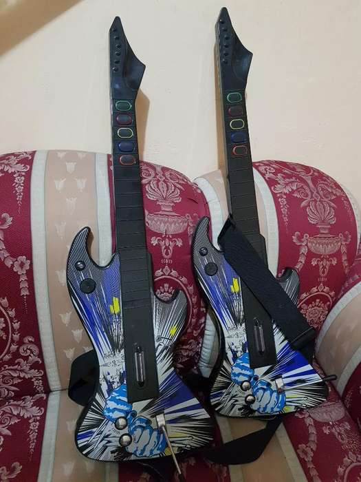 Guitarras de Guitar Hero Ps2