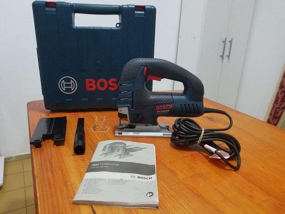 Sierra Caladora Bosch Gst 150 Bce Professional 780w Sds Maletín (SUIZA)