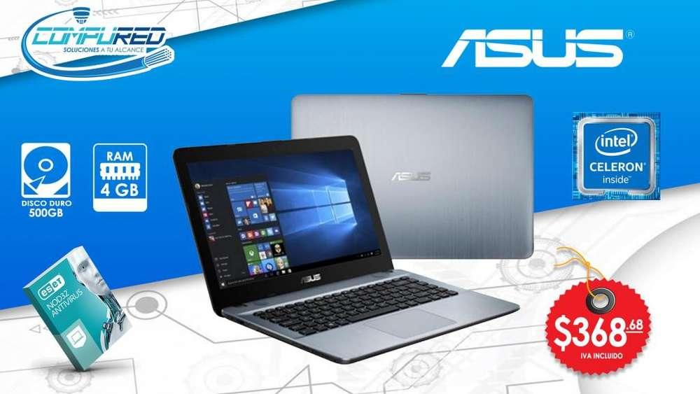 Laptop Asus Intel Celeron N4000 7ma / Ram 4g - 500gb