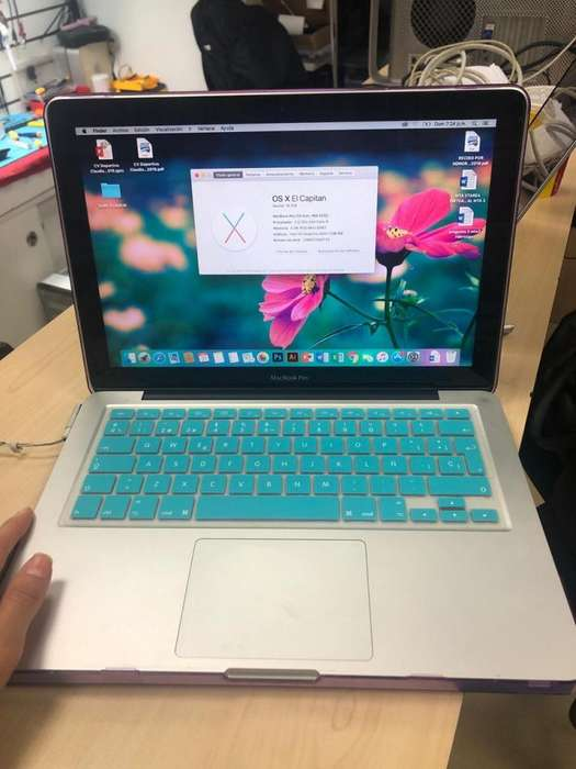 Macbook Pro 13 pulgadas 500 gb Core i5 2012