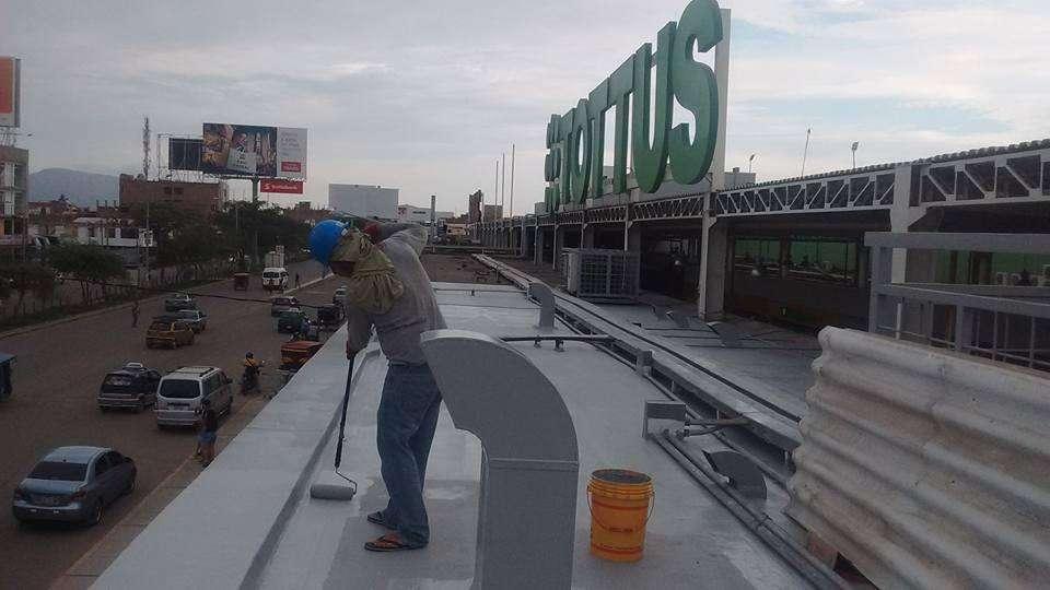 Impermeabilizacion de techos y azoteas