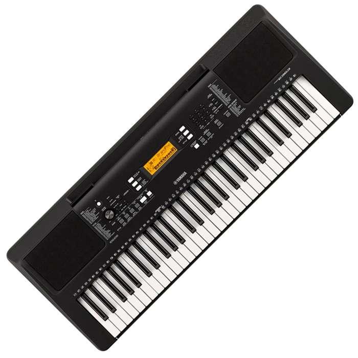 Teclado Yamaha PSRE363 Piano Organeta adaptador 61Teclas