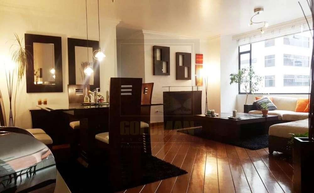 La Carolina, Departamento, 123 m2, venta, 3 habitaciones, 2 baños, 2 parqueaderos