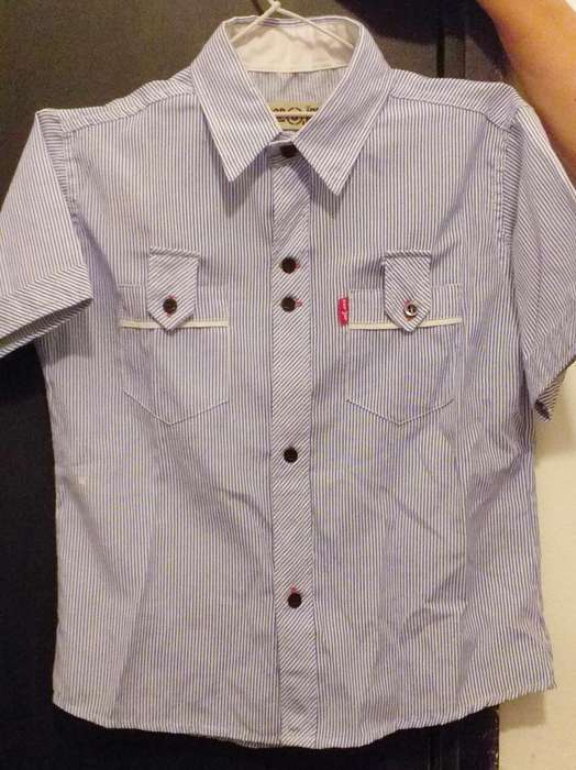 Camisa Talle 8. Impecable